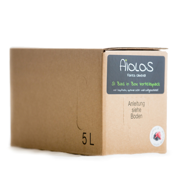 5l Vorteilspack Classic Olivenöl aus Griechenland im Bag in Box